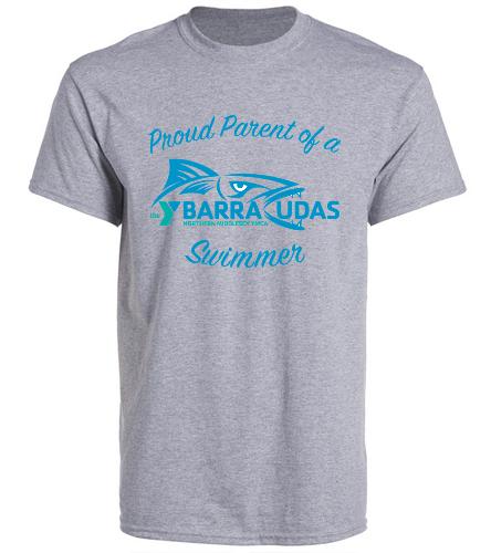MidYBarracudas- parent t-shirt - SwimOutlet Unisex Cotton Crew Neck T-Shirt