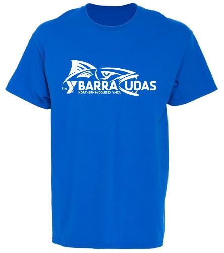 MIdYBarracudas - SwimOutlet Youth Cotton Crew Neck T-Shirt