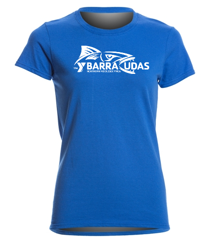 MidY Women's T-shirt - SwimOutlet Women's Cotton Missy Fit T-Shirt