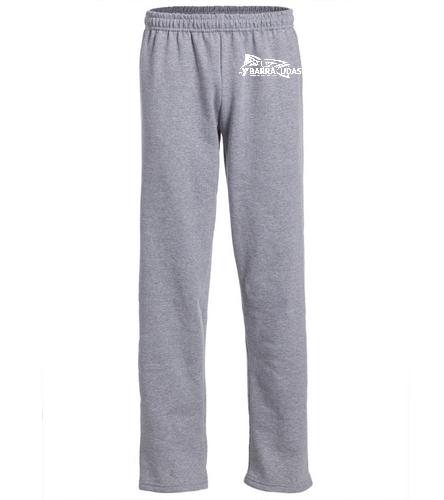MidY Adult Sweatpant - SwimOutlet Heavy Blend Unisex Adult Open Bottom Sweatpants