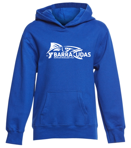 MIdYBarracudas - SwimOutlet Youth Fan Favorite Fleece Pullover Hooded Sweatshirt
