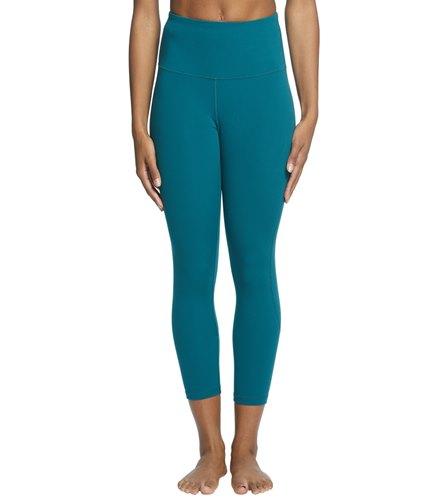 MidY Crop Yoga pant  - Everyday Yoga High Waisted Essential Capri Crop 21