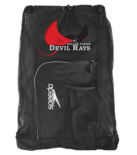 Devil Rays bag - Speedo Deluxe Ventilator Mesh Bag