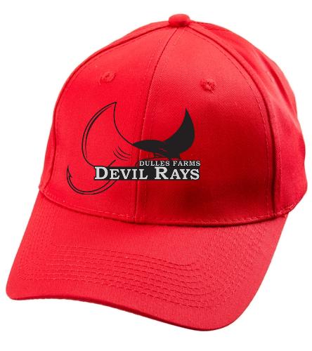 DFDR HAT - SwimOutlet Unisex Performance Twill Cap