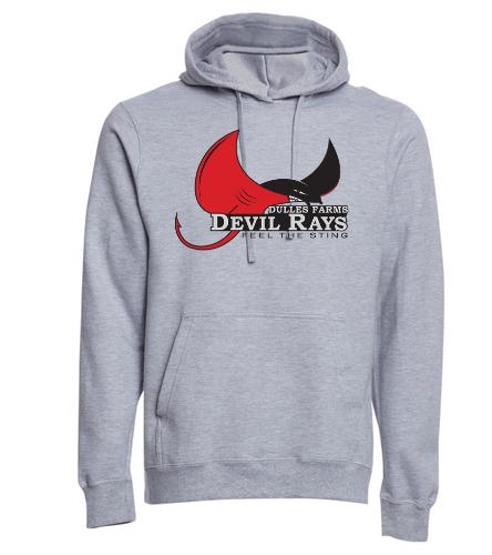 Adult DFDR Hooded Sweatshirt - SwimOutlet Adult Fan Favorite Fleece Pullover Hooded Sweatshirt