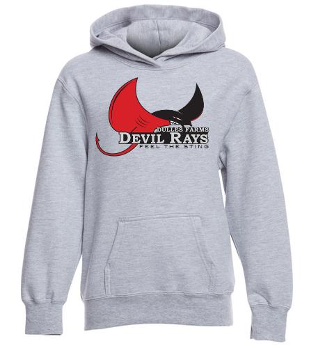 Dulles Farms Youth Sweatshirt - SwimOutlet Youth Fan Favorite Fleece Pullover Hooded Sweatshirt