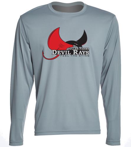 Men's Long Sleeve Shirt - SwimOutlet Long Sleeve PosiCharge® Competitor™ Tee