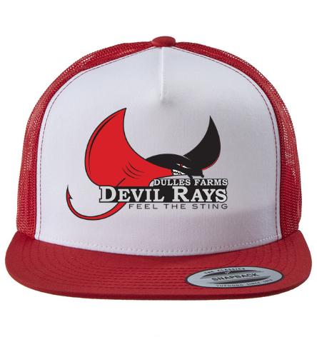 DFDR Mesh Trucker Hat - Swimoutlet Classic Mesh Trucker Hat