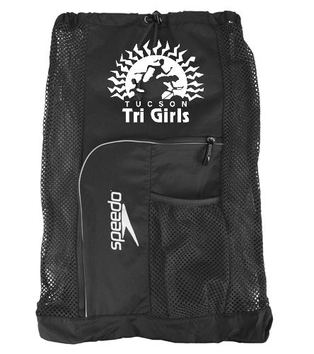 Tucson Tri Girls Gear Bag - Speedo Deluxe Ventilator Mesh Bag