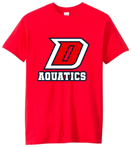 DHS Red Shirt - SwimOutlet Unisex Cotton Crew Neck T-Shirt