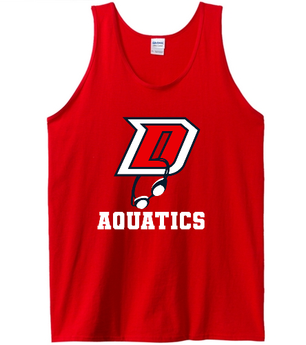 DHS Tank - SwimOutlet Men's Cotton Tank Top