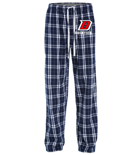 DHS Flannel - SwimOutlet Unisex Flannel Plaid Pant