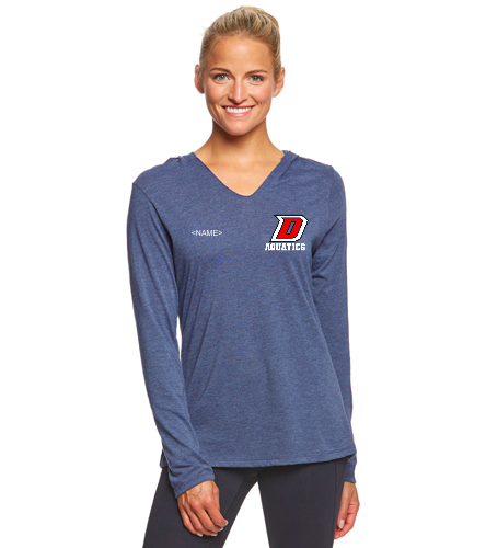 DHS Long Sleeve - SwimOutlet Women's Perfect Long Sleeve Hoodie