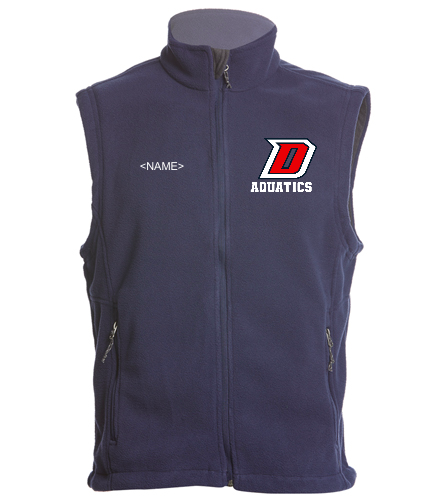 DHS Vest - SwimOutlet Adult Men's Fleece Vest