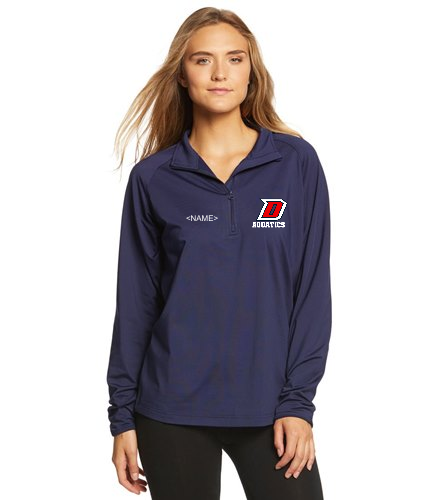 DHS 1/2 Zip - SwimOutlet Sport-Tek® Sport-Wick® Stretch 1/2-Zip Pullover