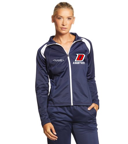 DHS Ladies Jacket - SwimOutlet Sport-Tek® Women's Tricot Track Jacket