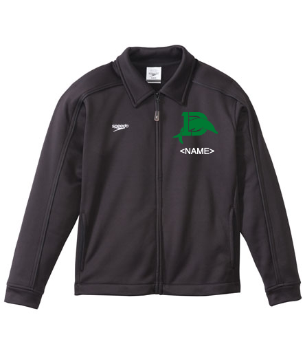Speedo Youth Warm Up Jacket with Logo - Speedo Streamline Youth Warm Up Jacket