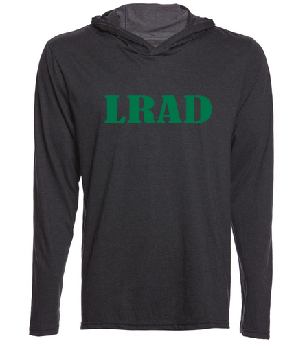 Longsleeve hoodie with LRAD - SwimOutlet Men's Perfect Long Sleeve Hoodie