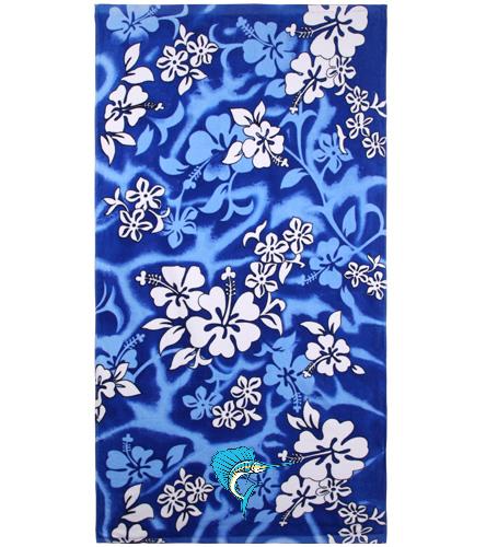 Sailfish Swim Club - Wet Products Hibiscus Beach Towel