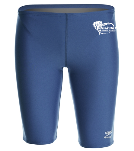 Sailfish Swim Club - Speedo Men's Solid Endurance+ Jammer Swimsuit