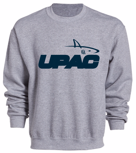 UPAC LOGO Crewneck Sweatshirt - SwimOutlet Heavy Blend Unisex Adult Crewneck Sweatshirt