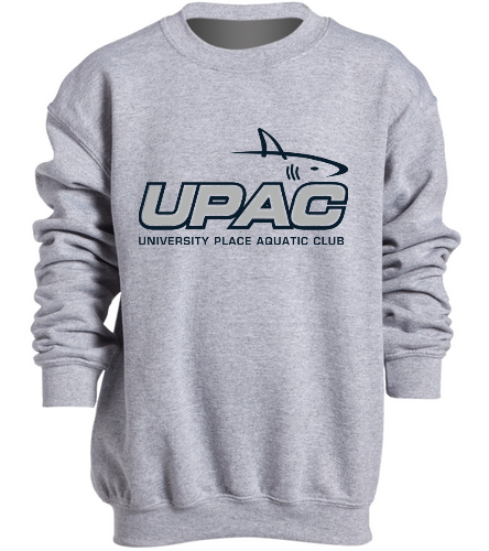 Crewneck with UPAC logo  - SwimOutlet Heavy Blend Youth Crewneck Sweatshirt