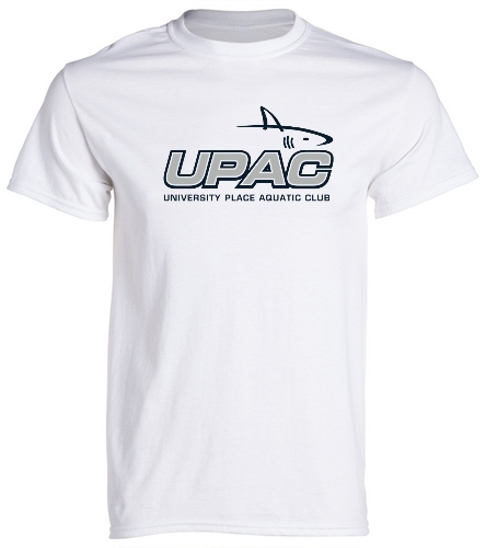 UPAC Adult Unisex T-Shirt - SwimOutlet Unisex Cotton Crew Neck T-Shirt