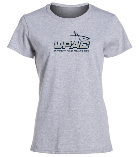 UPAC Women's Fit T-Shirt - SwimOutlet Women's Cotton Missy Fit T-Shirt