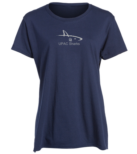 UPAC Blue Women's Fit T-Shirt - SwimOutlet Women's Cotton Missy Fit T-Shirt