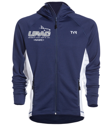 UPAC Men's Jacket - TYR Alliance Victory Male Warm Up Jacket