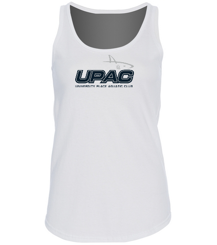 UPAC Women's Tank Top - SwimOutlet Women's Cotton Racerback Tank Top