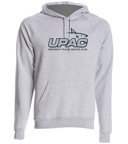 UPAC Adult Pull Over Hoodie - SwimOutlet Unisex California Fleece Pullover Hoodie