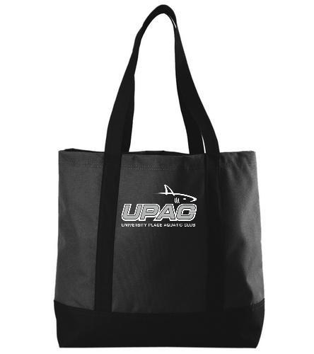 UPAC Black Tote - SwimOutlet Day Tote