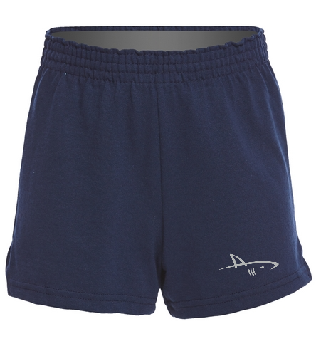 UPAC Girls' Jersey Shorts - SwimOutlet Custom Girls' Fitted Jersey Short