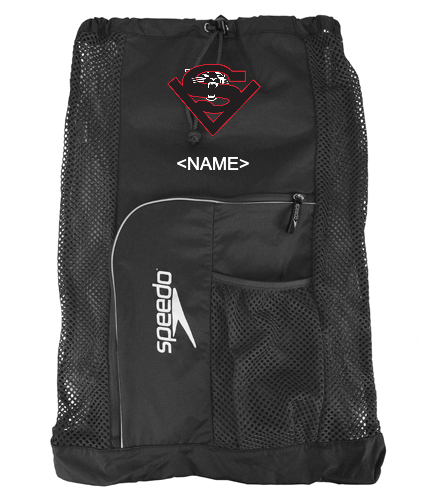 LOGO + NAME  - Speedo Deluxe Ventilator Mesh Bag