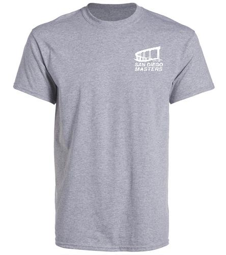 City of San Diego Masters T-shirt - SwimOutlet Unisex Cotton Crew Neck T-Shirt