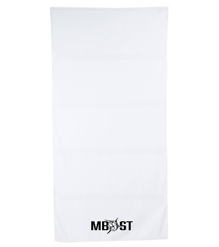 Meadowbrook Marlins - Royal Comfort Terry Velour Beach Towel 32 X 64