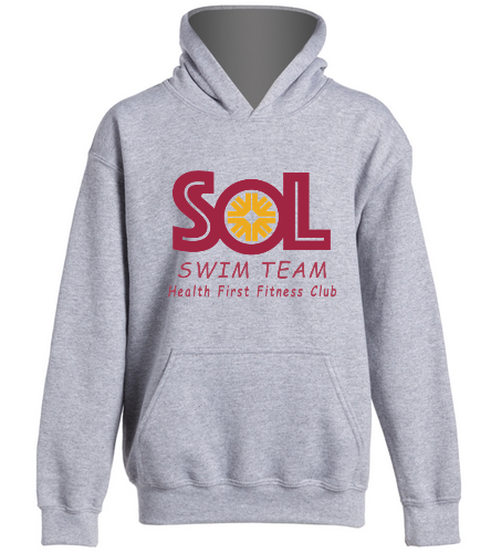 Swim Team Hoodie Youth - SwimOutlet Youth Heavy Blend Hooded Sweatshirt