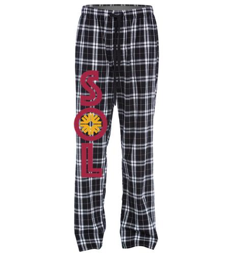 Sol PJ's - SwimOutlet Unisex Flannel Plaid Pant