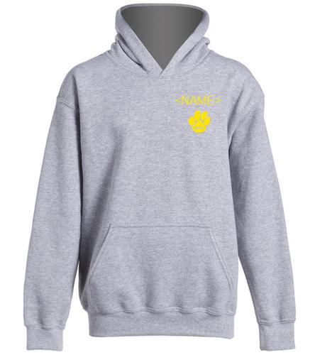 ASC Youth hooded sweatshirt grey - SwimOutlet Youth Heavy Blend Hooded Sweatshirt