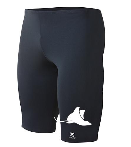 Manta Rays Mens Jammer TYR - TYR Durafast Elite Solid Jammer Swimsuit