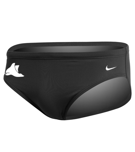 Manta Rays Mens Team Brief Nike - Nike Men's Solid Poly Brief Swimsuit