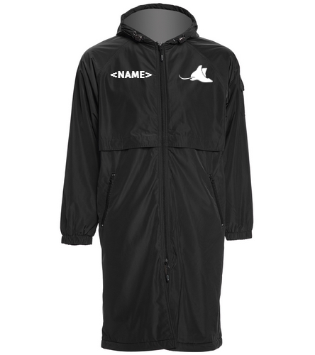 Manta Rays Team Parka - Sporti Comfort Fleece-Lined Swim Parka