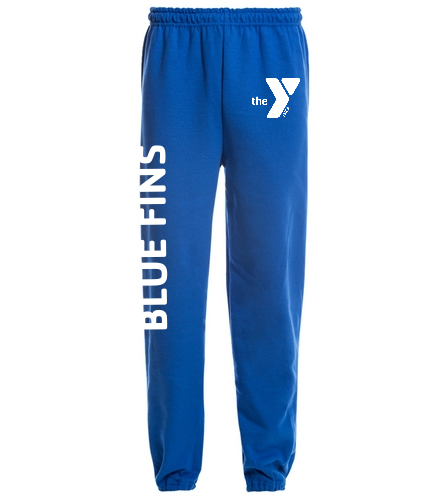 Blue Fins Adult Sweatpants - SwimOutlet Heavy Blend Unisex Adult Sweatpant