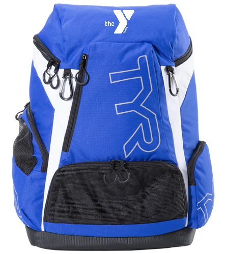 Blue Fins Team Bag - TYR Alliance 45L Backpack