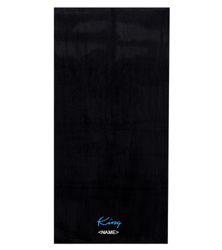 King    - Royal Comfort Silky Velour Beach Towel 32 x 64