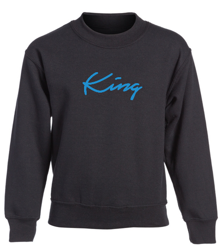 King - SwimOutlet Heavy Blend Youth Crewneck Sweatshirt