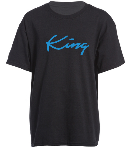 King - SwimOutlet Youth Cotton Crew Neck T-Shirt