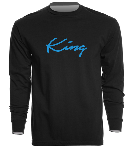 King - SwimOutlet Unisex Long Sleeve Crew/Cuff