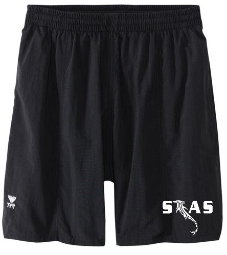 Black Men's STAS short - TYR Classic Deck Short